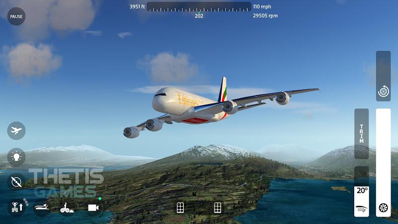 Flight Simulator 2018 FlyWings Free Screenshot 0