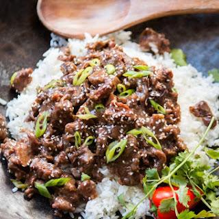 Slow Cooker Korean BBQ Beef.