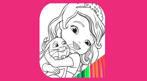 Coloriage Princesse Lina.Princesse A Colorier Pour Les Enfants Apk Download Apkpure Ai