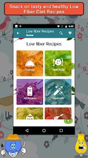 Low Fiber Diet Recipes - náhled
