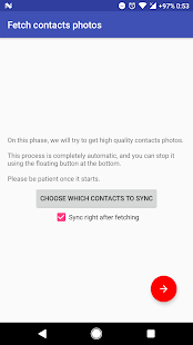 Contacts Sync (requires ROOT) - náhled
