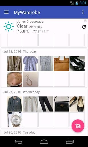 MyWardrobe - ファッションを記録しよう!