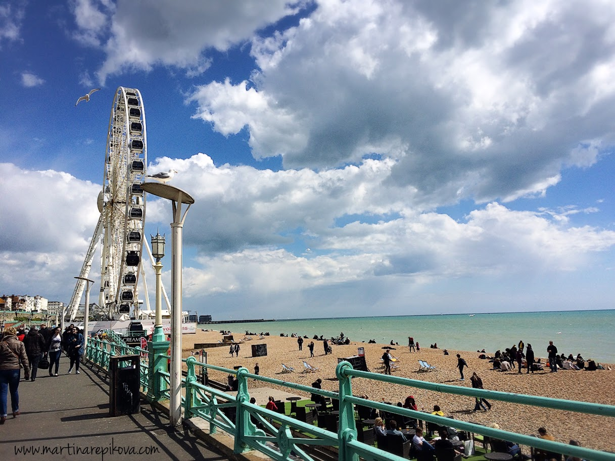 Beach at Brighton, UK