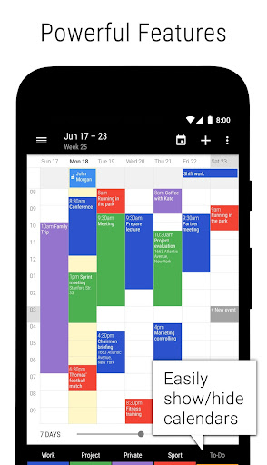 Business Calendar 2・Agenda, Planner & Widgets screenshot 2