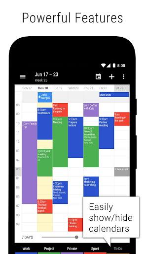 Business Calendar 2u30fbAgenda, Planner & Organizer 2.36.2 screenshots 2