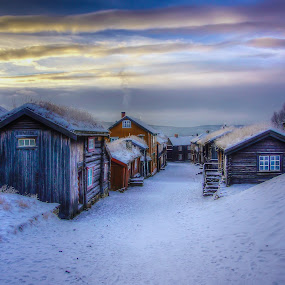 Røros by Jan Helge - Buildings & Architecture Public & Historical ( buldings, røros, winter, old town, norway,  )