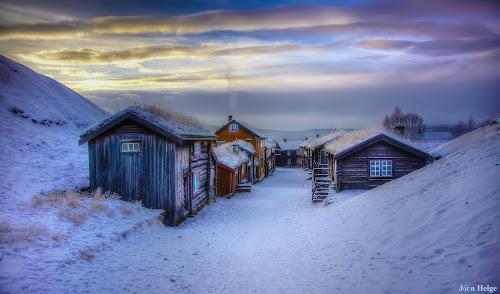 Røros by Jan Helge - Buildings & Architecture Public & Historical ( buldings, røros, winter, old town, norway,  )