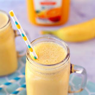 Mango Orange Banana Cold Buster Smoothie.