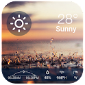 Current weather & forecast wid icon