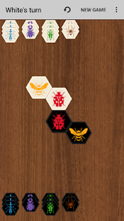 Hive with AI (board game) - náhled