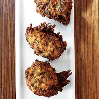 Herbed Zucchini Feta Fritters