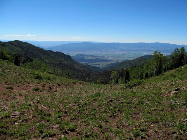 View down City Creek