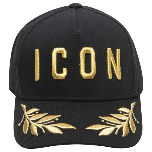 Thumbnail images of DSQUARED2 Gold Embroidered Cap