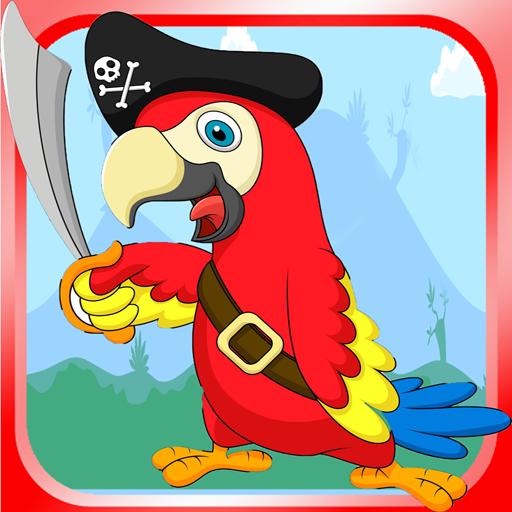 愤怒的鹦鹉飞扬的 冒險 LOGO-玩APPs