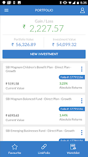 SBI Mutual Fund - InvesTap Capture d'écran