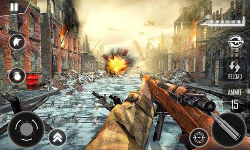 Call for War - Sniper Duty WW2 Battleground  captures d'écran 4