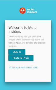 Moto Insiders - náhled