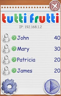 TuttiFrutti Scattergories- screenshot thumbnail