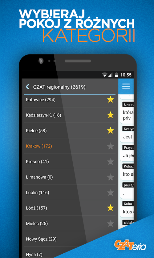 CZATeria - czat, chat online- screenshot