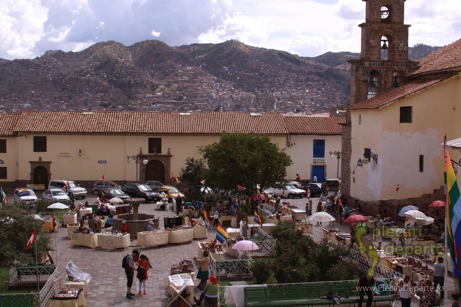 cartierul San Blas, din Cusco, Peru