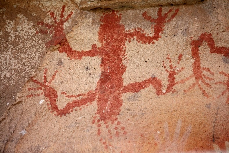 Cueva de las Manos, a caverna das mãos na Patagônia