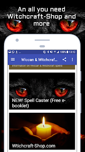 Wiccan and Witchcraft Spells- screenshot thumbnail