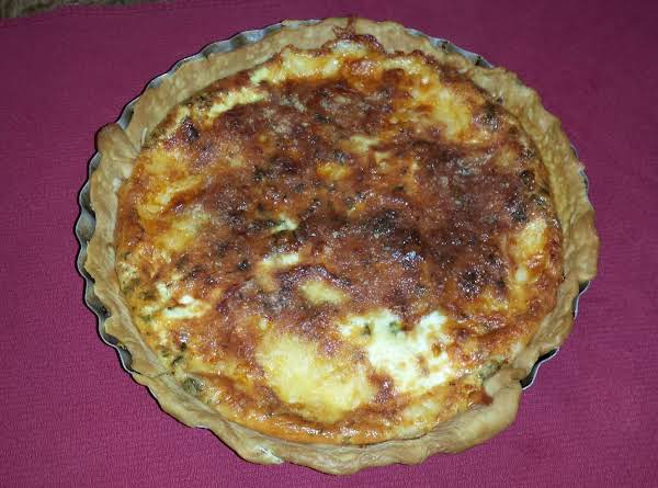 A Very Good, Cheesy, Hearty Quiche