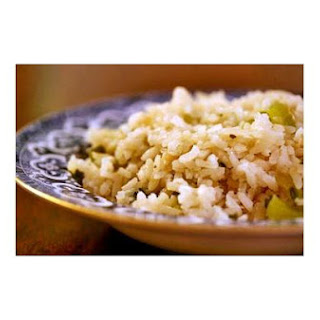 Rice Pilaf With Bacon.