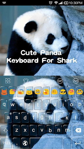 Cute Panda Emoji Keyboard