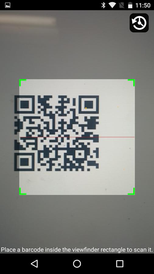 qr barcode scanner android apps on google play. Black Bedroom Furniture Sets. Home Design Ideas