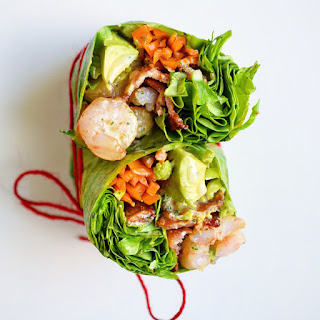 Shrimp & Bacon Breakfast Wrap (AIP!)