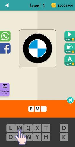 Logo Test: Germany Brands Quiz, Guess Trivia Game 2.1 screenshots 3