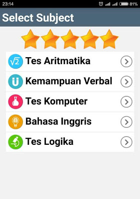 Kuis Ranking 1 Indonesia - screenshot