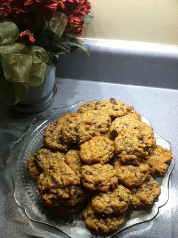 Choc-oat-wheat Cookies Recipe