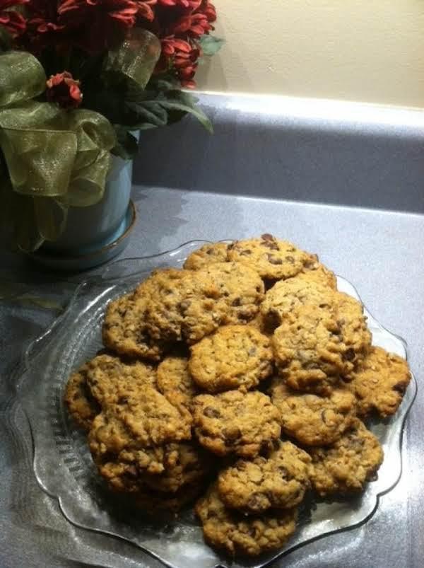 Choc-oat-wheat Cookies