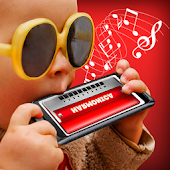 Play Harmonica real simulator