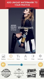 Watermark Photo - Add Watermark & Watermark Maker Screenshot