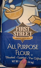 Photo: First Street All Purpose Flour for the cookies.