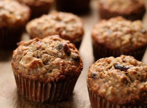 Banana Apple & Oatmeal Muffins Recipe