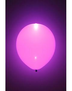 LED-ballong, rosa 5st
