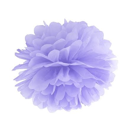 Pom pom - lila 35 cm