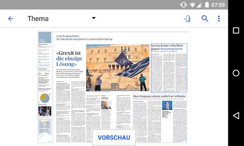 az Badener Tagblatt E-Paper screenshot 2