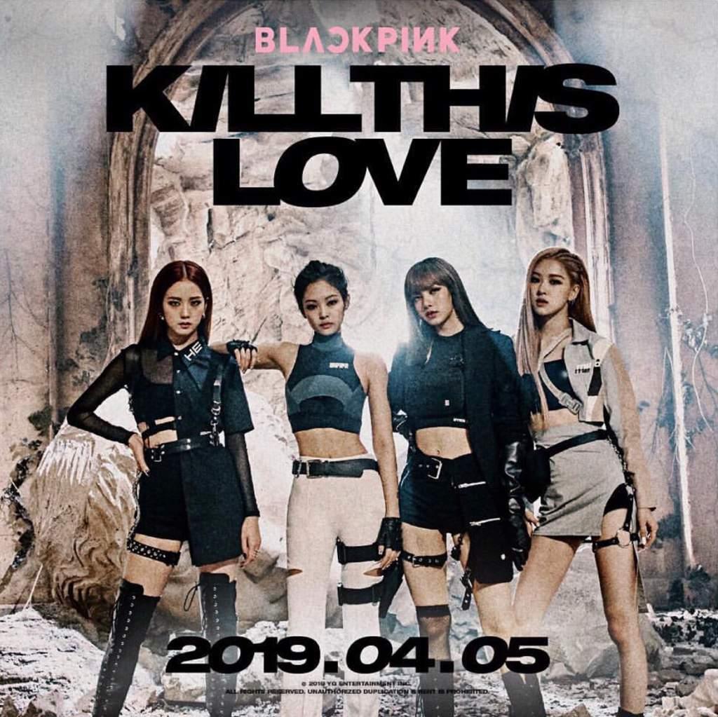 kill this love group teaser