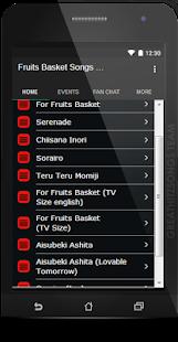 Fruits Basket Songs & Lyrics, Current. - náhled