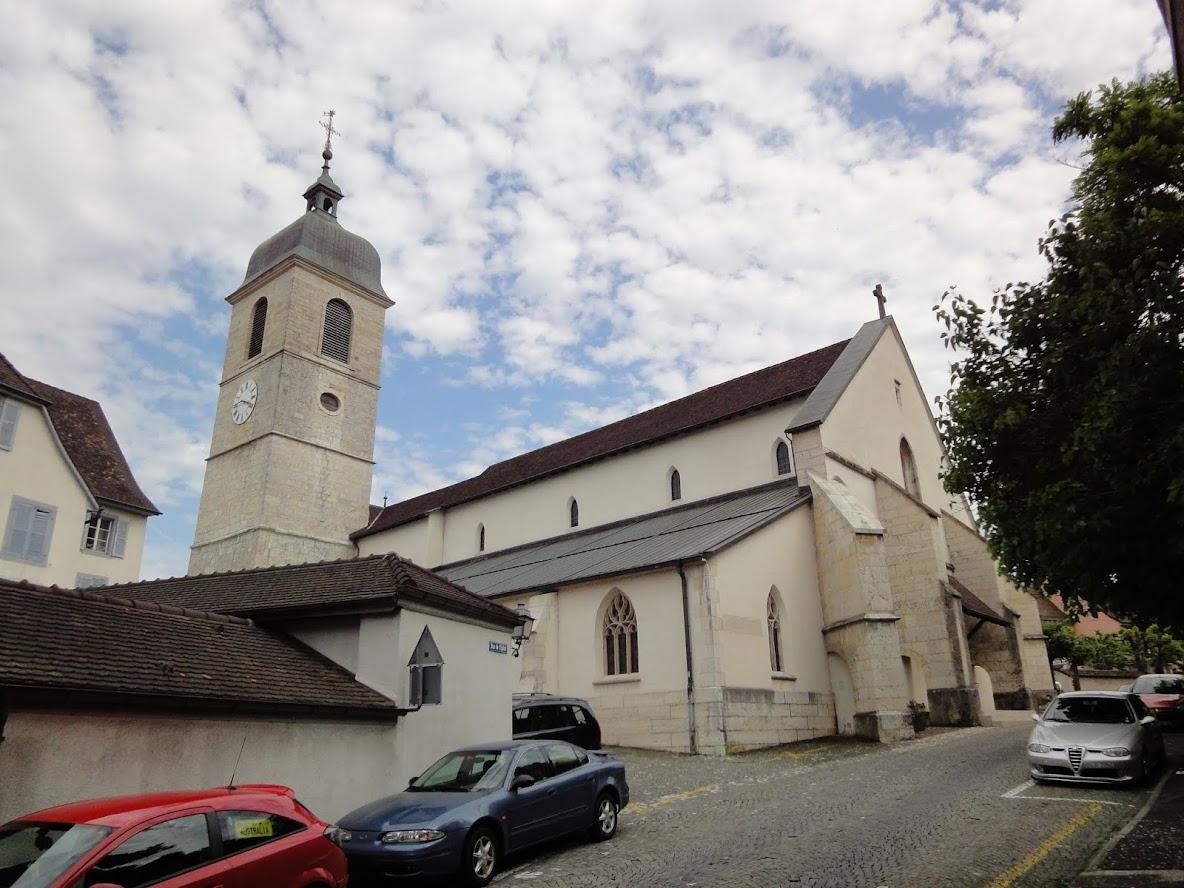 Eglise St-Pierre à Porrentruy