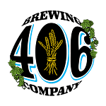Logo for 406 Brewing Company