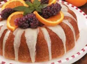 Orange Pumpkin Poppy Seed Cake Recipe
