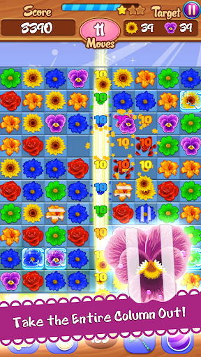Flower Mania: Match 3 Game apktram screenshots 15