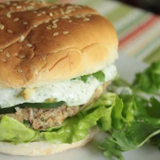 Cilantro Tofu Bean Burgers