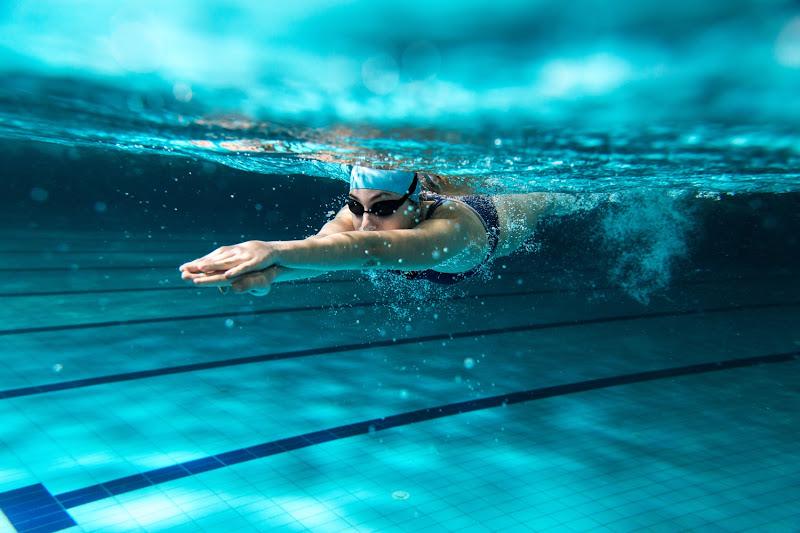 Competitie zwemmen